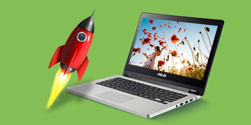 چگونه سرعت لپ تاپ را بالا ببریم