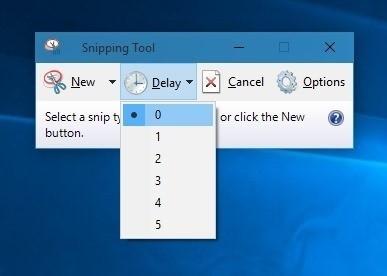 ابزار Snipping ویندوز