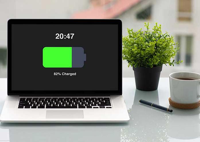 لپ تاپ شارژ نمی شود