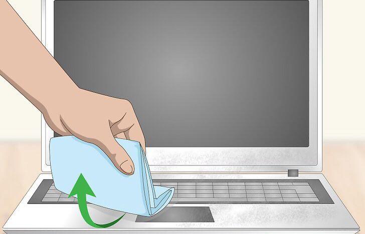 شستن لپ تاپ