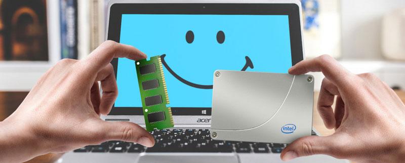 ارتقا رم لپ تاپ