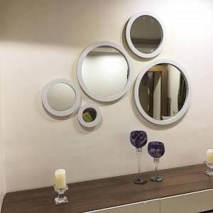 خرید 52 مدل آینه دکوراتیو [شیک] فانتزی و دیواری ارزان قیمت
