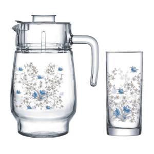 ست پارچ و لیوان شیشه ای