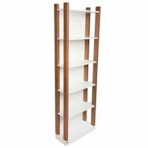 خرید 62 مدل کتابخانه دیواری [شیک و زیبا] و قفسه کتاب چوبی و فلزی