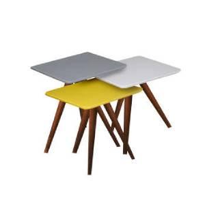 خرید 46 مدل شیک ترین میز عسلی [چوبی ، فلزی و شیشه ای] ارزان قیمت