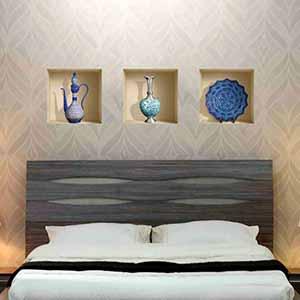 خرید 48 مدل پوستر و کاغذ دیواری سه بعدی و ساده [شیک و مدرن] با قیمت ارزان